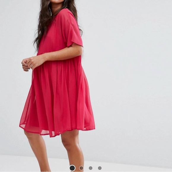 59192fa756497 ASOS Maternity Dresses & Skirts - ASOS berry maternity tall woven smock  dress